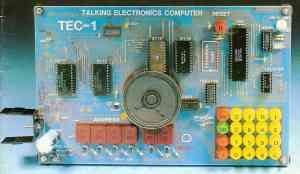 TEC-1 image from Issue 10 of Talking Electronics Magazine